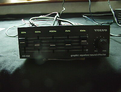 Volvo EQ-201 Graphic Equalizer & Sound Effector .& Install Booklet From 1989 740