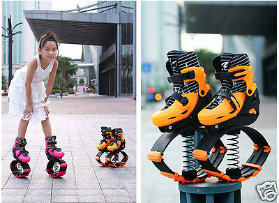 Women Mens Kids Fitness Space Sport Kangoo Jumps / Skates Combination Shoes