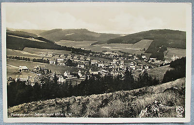 Vintage - Furtwangen - Switzerland Postally used - Postcard