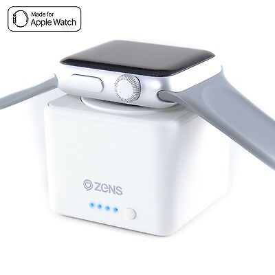 Zens Apple Watch Power Bank Apple Watch & Watch Series 2 1300mAh Weiß