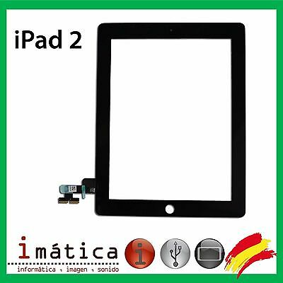 Pantalla Tactil Para Apple Ipad 2 Color Negro Negra Digitalizador Touch Screen
