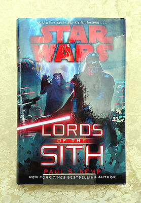 Star Wars: Lords of the Sith by Paul S. Kemp Hardcover Hardback