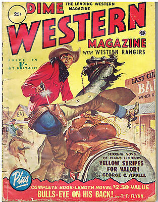 DIME WESTERN MAGAZINE : 1950s: BRITISH EDITION