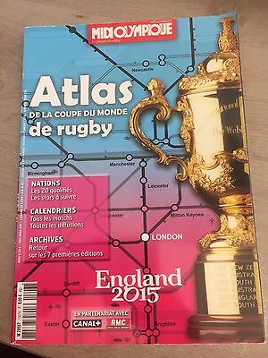 Midol Atlas Coupe Du Monde Rugby England 2015
