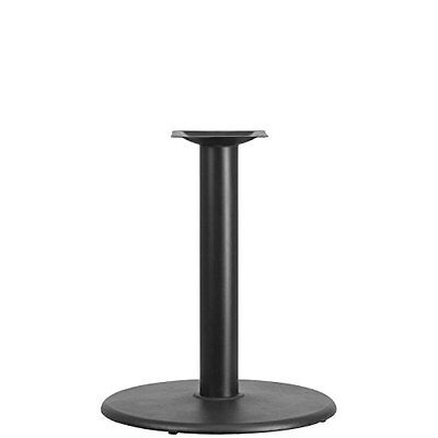 24in Round Restaurant Table Base with 4in Diameter Table Height Column, New