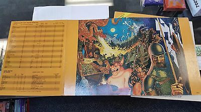 RARE DUNGEON MASTER'S SCREEN 2nd Ed. Advanced D&D TSR 9024. Collector's Item!