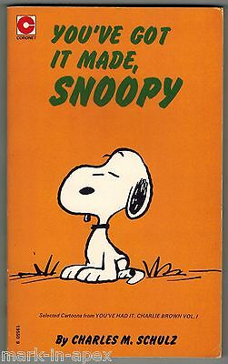 CORONET PEANUTS BOOK - #40 You've Got It Made, Snoopy - Schulz (PB)