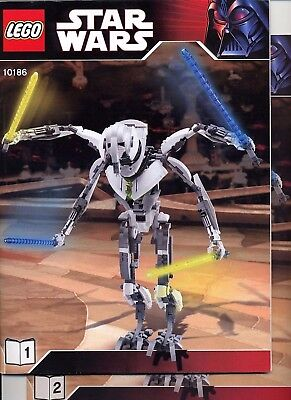 LEGO Star Wars 10186 General Grievous Ultimate Collector Series - Instructions