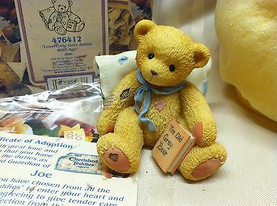 Cherished Teddies Joe Love Only Gets Better With Age 47612 1998
