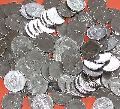 Italy - Bulk lot of 75x 100 Lire coins Dated 1989 and before