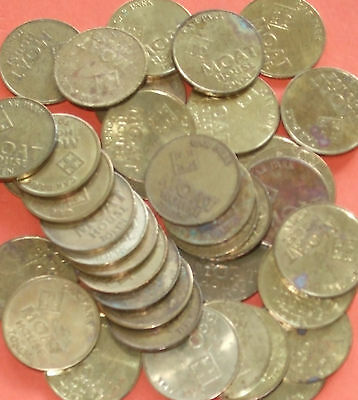 Moat House Parking Tokens x41