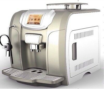 Amps Me712 Beans To Cup Coffee Machine Digital Screen One Touch Coffee As Ur Cho