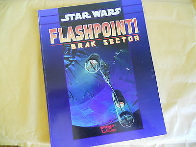 Star Wars-Flashpoint !-Brak Sector-Rpg-Gioco Di Ruolo-West End Games-Ing