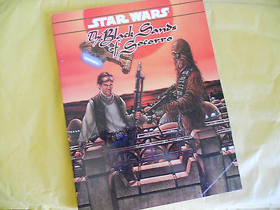 Star Wars-The Black Sands Of Socorro-Rpg-Gioco Di Ruolo-West End Games-Ing