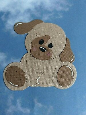 Patch Puppy Dog Die Cut Shapes / Toppers