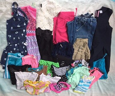 Girls Spring Summer Clothes Shorts Dresses Sz 10/12 Lot Of 25 Justice