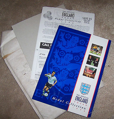 The Complete Official England Squad Medal Collection 1996
