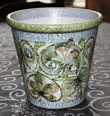 Bourne Denby Glyn Colledge Planter Abstract Green - Free Post