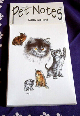 Tabby Kittens Note Cards