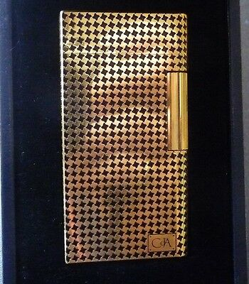 Rare Design  CARAN d'ACHE Lighter - Black and Gold - Boxed - Stunning