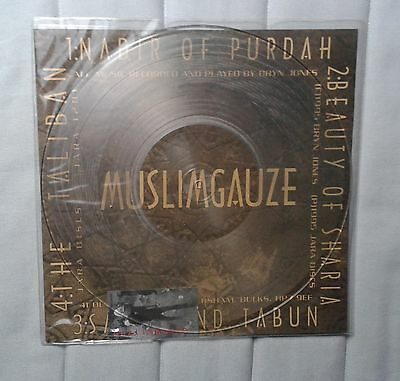"Muslimgauze Nadir of Purdah Ltd Clear Single Sided 12"" EP"
