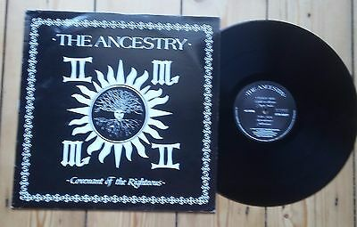 """The Ancestry Covenant Of The Righteous 12"""" Goth Rosetta Stone"""