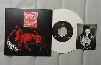 "The White Stripes Conquest Lt White Vinyl 7"" Jack Third man"