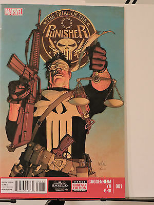 Punisher: The Trial of the Punisher #1 (November 2013, Marvel)