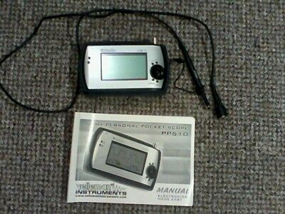 PPS10: 10MS/s Velleman personal pocket oscilloscope