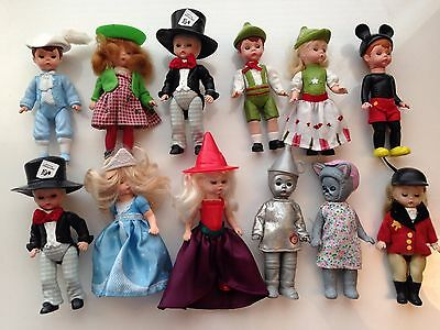 12 McDonald's Madame Alexander Doll Collection Wizard of Oz, Story Land Etc. Lot