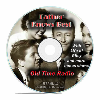 FATHER KNOWS BEST (115 Shows) Old Time Radio Mp3 2-Cd's - $8 09