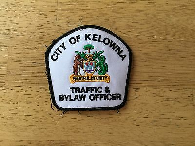 Canada City of Kelowna Traffic & Bylaw Officer Patch