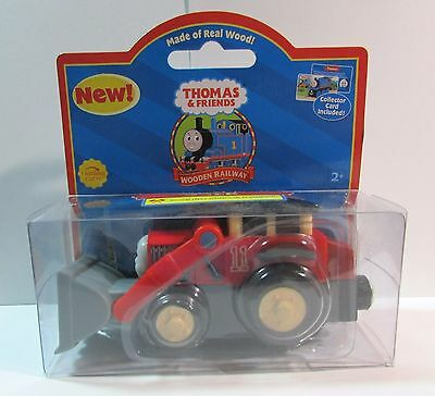 Thomas The Tank & Friends - Jack Front Loader '2003' Red Label**new*rare W/card!