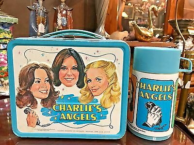 RARE 1978 Charlie's Angels  Lunchbox and Thermos, Oh So, So Beautiful, two WOWS!