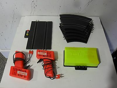 Grand Tourism Speed Trax Mix Lot Slot Car Accessories .