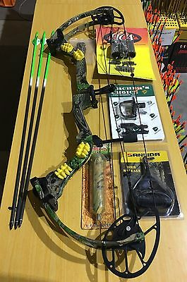 "High Country Archery Speed Pro X11 Compound Bow 60# 28"" RH Kit (#1219)"