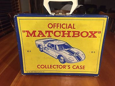 1966 Vintage MATCHBOX COLLECTOR'S CASE No. 41 Fred Bronner Corporation