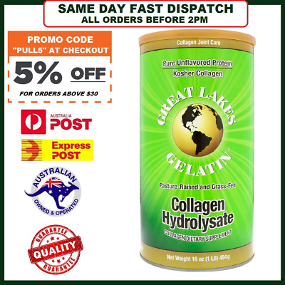 Great Lakes Gelatin Co., Collagen Hydrolysate, Joint Care, Beef, 16 oz. 454g