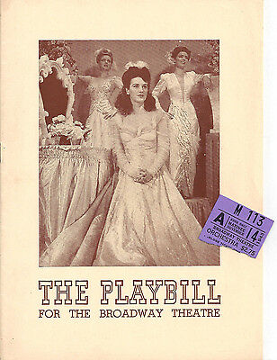"Jane Froman ""ARTISTS and MODELS"" Jackie Gleason 1943 FLOP Playbill / Ticket Stub"