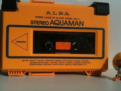 Alba AQA-1 Personal Cassette Player Walkman AQUAMAN Kassettenspieler waterproof