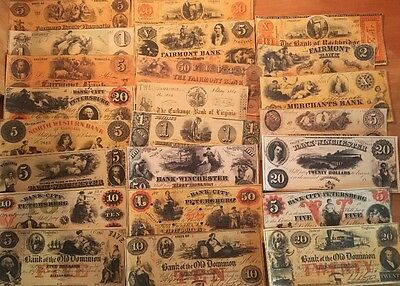 Reproduction Money Obsolete US 1893 World/'s Columbian Expo 6Pc Set Currency