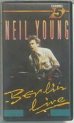 Neil Young  Berlin Live (VHS Video )