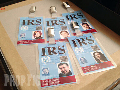 Warehouse 13 - Agent IRS Security Pass Clip-on ID Card Set