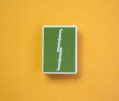 Green Fontaine Playing Cards - Nuovo Sigillato - Mint- Limited Edition