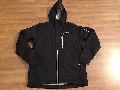 BRAND NEW O'Neill Ski Jacket Mens Snowboard Waterproof Black Size XL Extra Large