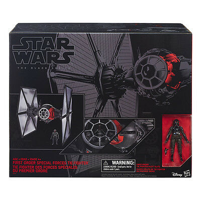 "First Order Special Forces TIE Fighter, Black Series 6"", Star Wars: Episode VII"