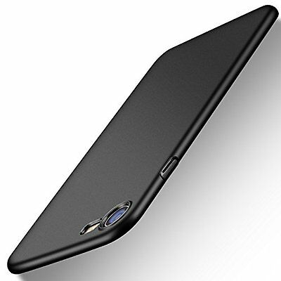 Anti-Scratch Ultra Thin Slim Hard Case Cover For Apple iPhone 7 Space Black