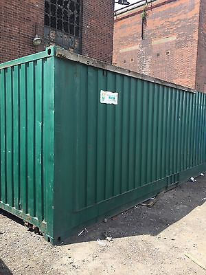 30ft steel storage container