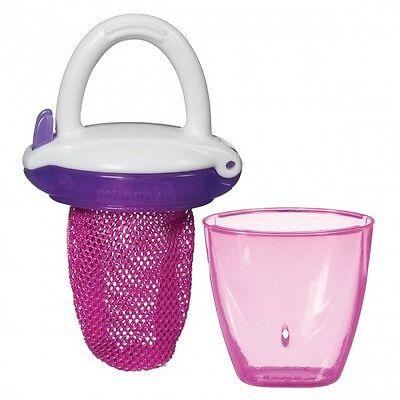 Munchkin Deluxe Fresh Food Feeder - Pink - NEW