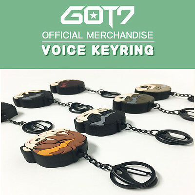 Got7 Voice Keyring Jyp Official Goods  Free Ship